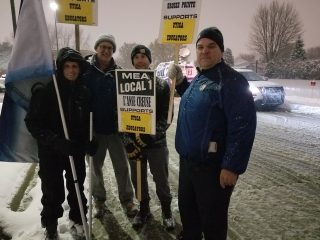 GPEA Supports Utica Teachers